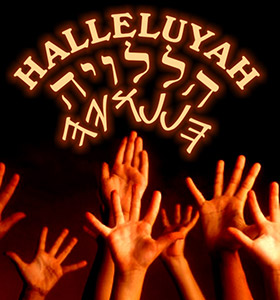 halleluyah hands in the air
