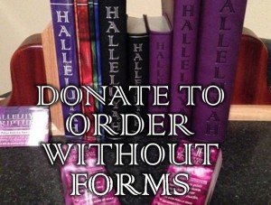 donate to order side of web site