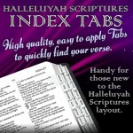 HalleluYah Scriptures Bible Tabs - Order Now In Stock