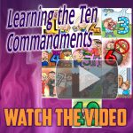 Learn The 10 Commandments With The Coloring Book - Young Helpers Share.
