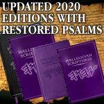EXCITING NEW UPDATES - NEW UPDATED VERSION – 2020 - PSALM 151 - 160 RESTORED.