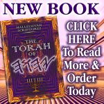 New Book – Torah Of YHWH – Urgently Needed By His People – Order Now.